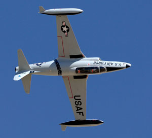 T-33 airshows and war birds